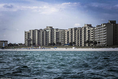 Photograph - Moonspinner Condos by Debra Forand