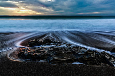 Photograph - Moonstone Beach In The New Year by Jason Roberts