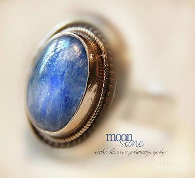 Photograph - Moonstone by Vicki Ferrari