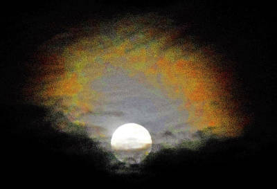 Photograph - Moonstruck 10 by Ron Kandt