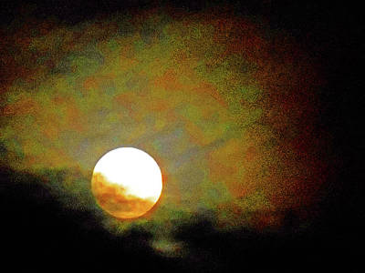 Photograph - Moonstruck 11 by Ron Kandt