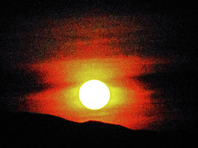 Photograph - Moonstruck 15 by Ron Kandt
