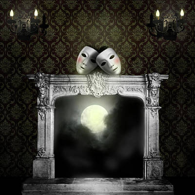Digital Art - Moonstruck by Larry Butterworth