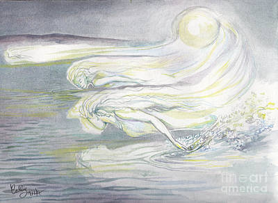 Painting - Moontide by Callie Smith