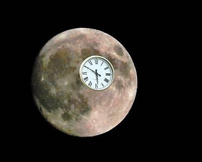 Walter Gantt Wall Art - Photograph - Moontime by Walter Gantt