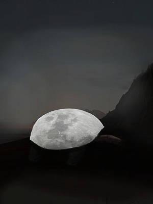 Digital Art - Moontoise by Keshava Shukla
