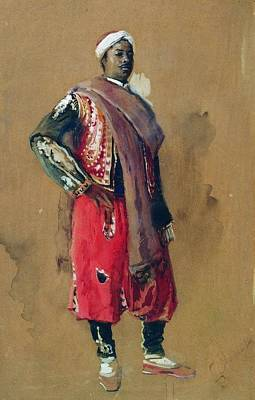 Painting - Moor by Konstantin Makovsky