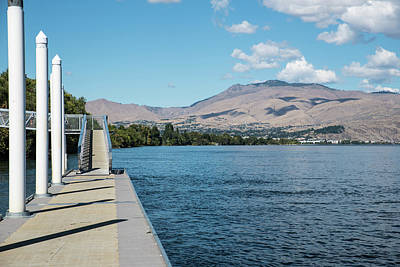 Photograph - Moorage And Mountain by Tom Cochran