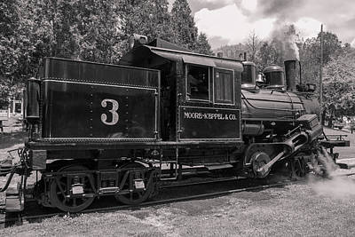 Photograph - Moore Keppel And Co. Train by Mary Almond