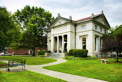 Photograph - Moore Memorial Library - Greene Ny by Christina Rollo