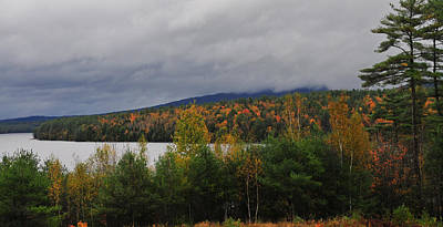 Photograph - Moore Reservoir - New Hampshire by Brian Hoover
