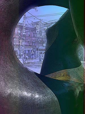 Digital Art - Moore Transformed by Ian  MacDonald