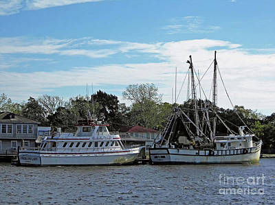 Photograph - Moored At St Marys by D Hackett