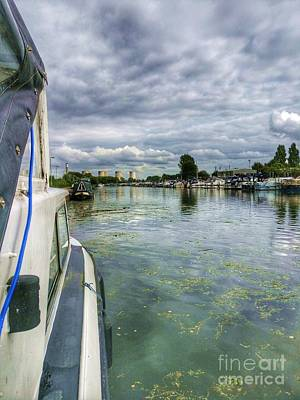 Photograph - Moored At The Marina by Isabella F Abbie Shores