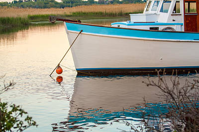 Photograph - Moored Boat 2 by Brian MacLean