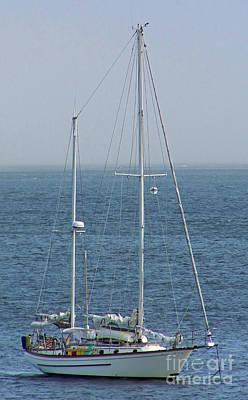 Photograph - Moored In Matanzas Bay by D Hackett