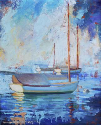 Painting - Moored by Julie Brayton