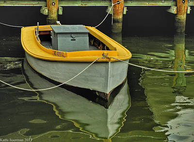 Photograph - Moored by Kathi Isserman