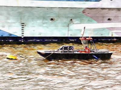 Photograph - Moored Next To My Bro by Dorothy Berry-Lound
