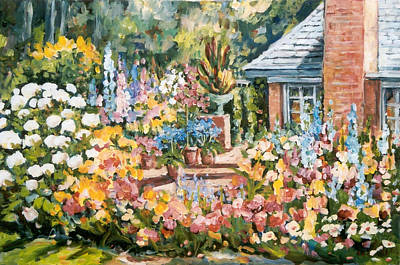 Painting - Moore's Garden by Ingrid Dohm