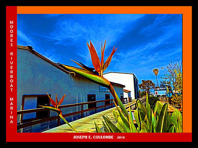 Digital Art - Moores Riverboat Marina 2016 by Joseph Coulombe
