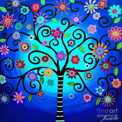 Painting - Moore's Tree Of Life by Pristine Cartera Turkus