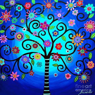 Painting - Moore's Tree Of Life by Pristine Cartera Turkus