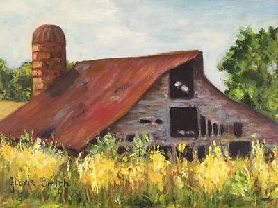 Painting - Mooresville N.c Barn by Gloria Smith