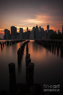 Freedom Tower Photograph - Mooring Eve by Andrew Paranavitana