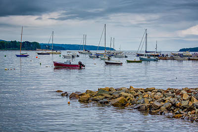 Photograph - Moorings by John M Bailey
