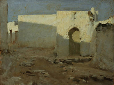 Painting - Moorish Buildings In Sunlight by John Singer Sargent