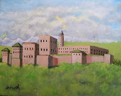 Painting - Moorish Palace by Gregory Dorosh