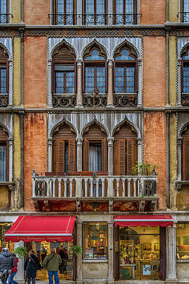 Photograph - Moorish Style Windows Venice_dsc1450_02282017 by Greg Kluempers