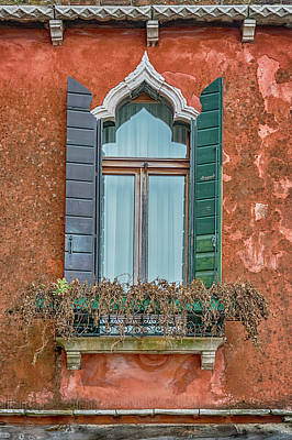 Photograph - Moorish Window And Texture Venice_dsc5350_03052017 by Greg Kluempers