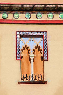 Photograph - Moorish Window by David Letts