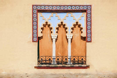 Photograph - Moorish Window II by David Letts