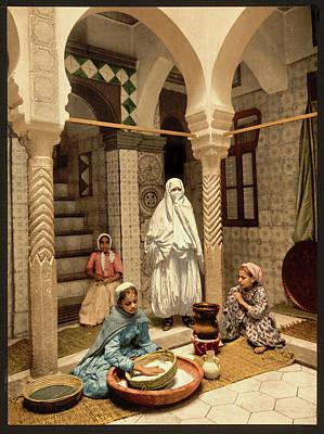 Photograph - Moorish Women In Algiers by Carlos Diaz