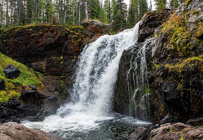 Photograph - Moose Falls by Alex Galkin