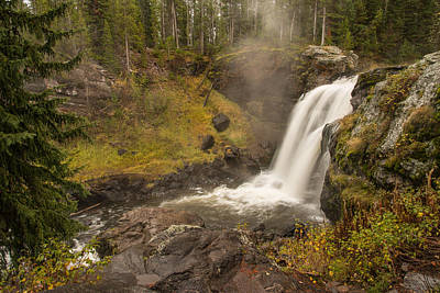 Photograph - Moose Falls by Gary Lengyel