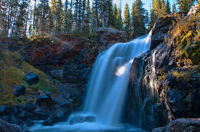 Photograph - Moose Falls by Steve Stuller