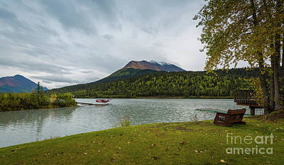 Photograph - Moose Lake by Eva Lechner