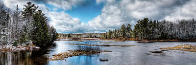 Photograph - Moose River Solitude by David Patterson
