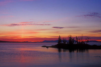 Moosehead Lake Dawn Art Print