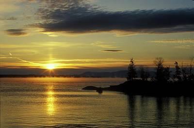 Moosehead Lake Sunrise Art Print