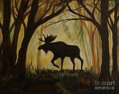 Moose's Manor Original by Leslie Allen