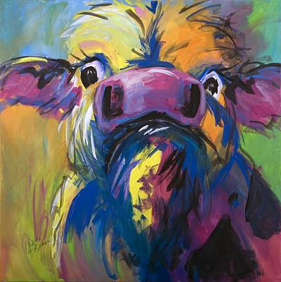 Moove Aside Art Print by Terri Einer