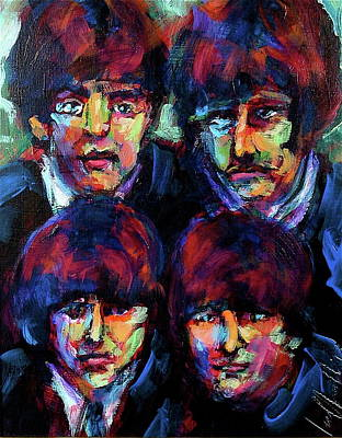 Painting - Mop Tops by Les Leffingwell
