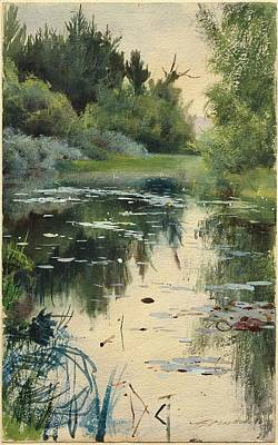 Mora Painting - Mora  by Anders Zorn