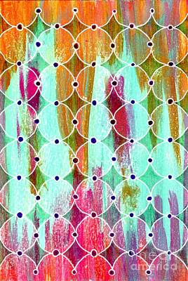 Moroccan Mixed Media - Moroccan Circles by Desiree Paquette