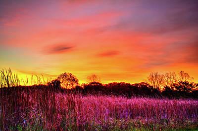 Photograph - Moraine Hills At Sunrise by Roger Passman